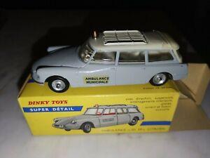 Citroen Ambulance ID 19 Dinky Toys – grise