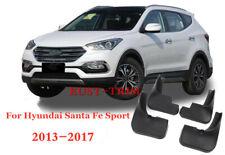 For Hyundai Santa Fe Sport 2013-2017 Mud Flap Flaps Splash Guards Mudguards 4PCS