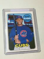F48041 2018 Topps Heritage Minors Nelson Velazquez Cubs Rare Red Back