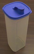 Tupperware C 86 Erfrischer Kanne Saftkanne 2 l Klar / Dunkelblau Blau Neu OVP