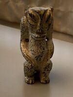 Chinese Jade Stone Art Vintage Figurine