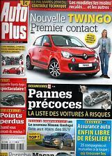 AUTO PLUS N°1331 7 MARS 2014  NOUVELLE TWINGO/ PANNES PRECOCES/ NISSAN QASHQAI