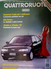 Quattroruote 494 1996 Alfa Romeo: la Giulietta in strada. Punto e Panda 97 [Q87]