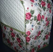 Rose Stems Quilted Fabric Cover for KitchenAid Mixer NEW
