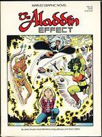 The Aladdin Effect Marvel Graphic Novel 16 GN SC Storm Wasp Tigra She-Hulk 1985