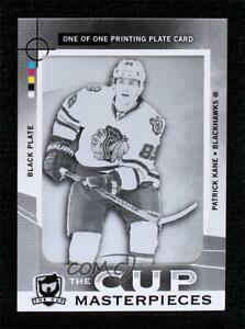 2012-13 Upper Deck The Cup Printing Plate Black 1/1 Patrick Kane #CUP-16