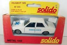 Ambulances miniatures Solido 1:43