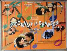 Cinema Poster: ON CONNAIT LA CHANSON aka Same Old Song 1998 (Quad) Pierre Arditi
