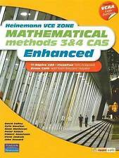 Heinemann Vce Zone Mathematical Methods 3 & 4 Cas Enhanced by Kylie Boucher,...