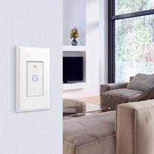 Smart WIFI Light Switch Works For Alexa Google Home IFTTT Smart life App 1 Gang