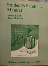 Student's Solutions Manual for Intermediate Algebra Graphs & Models 3rd Edition