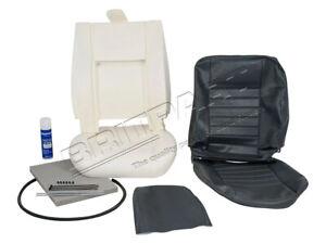 Seat Retrimming Retrim Kit Defender to 2006 Grey for Land Rover Front DA5630