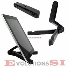 SOPORTE TABLET MESA EBOOK SAMSUNG APPEL IPAD UNIVERSAL LIGERO PLEGABLE ATRIL NEW