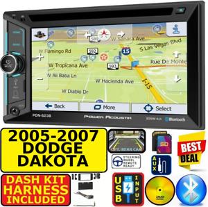 2005-2007 DODGE DAKOTA GPS NAV BLUETOOTH USB CD/DVD AUX SD CAR RADIO STEREO PKG