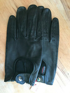 Womens Dents Chichester Hairsheep unlined Leather Driving Gloves Large 8