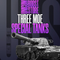 World Of Tanks (WOT) 3 Gun marks  / 3 MOE Marks Of Excellence T95 Chieftain