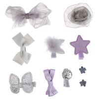 10 Pcs Kids Hairwear Girl Baby Hair Clip Crown Bow Tie Hairpins Hair Accessories