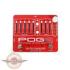 Brand New Electro-Harmonix POG2 Polyphonic Octave Generator Pedal