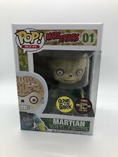 Funko Pop! Movies Mars Attacks 2012 Sdcc 480 Le Glow Martian #01 + Pop Stack Htf