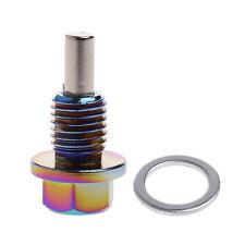 M12*1.5 Aluminum Magnetic Oil Drain Plug Bolt Sump Nut For Lexus/Nissan Toyota