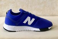 Men New Balance Nubuck 247 Lace Up Sneakers Shoes Royal Blue MRL247J2 Size 11.5