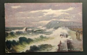 Mint Vintage Bray Head Co Wicklow Ireland Real Picture Postcard RPPC
