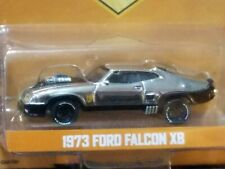 GREENLIGHT 1973 FORD FALCON XB MAD MAX V8 INTERCEPTOR LIMITED CHROME CHASE -MIP