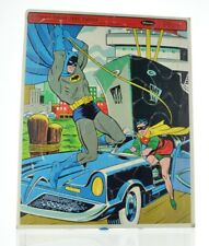 VINTAGE 1966 BATMAN AND ROBIN  FRAME TRAY PUZZLE, by WHITMAN