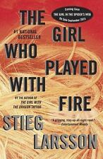 THE GIRL WHO PLAYED WITH FIRE by STIEG LARSSON (2010) PB LIKE NEW LOW SHIPPING