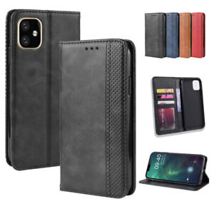 Case For iPhone 13 12 11 Pro XS Max XR Magnetic Weave Pattern Leather Card Cover