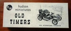 1950 HUDSON MINIATURES 1910 International Harvester Old Timer model kit