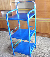 Chevet étagère loft design industriel métal vintage années 60 design 1970 Prouvé
