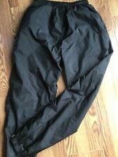 Vintage Adidas Originals Windpants Black Trefoil Track Pants Lined Sz Large