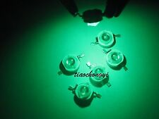 50pcs 3W 3Watt Green 520-525nm 700mA 3.2-3.6V LED High Power lamp