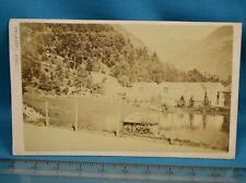 1860/70s CDV France Carte De Visite Photo Luchon Pyrenees By Pacault Pau