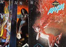 Neil Gaiman: LOS LIBROS DE LA MAGIA colección completa. 4 prestigios ZINCO, 1991