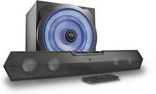 Trust GXT 668 Tytan 2.1-Soundbar mit Beleuchtetem Subwoofer-Lautsprecherset