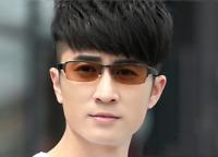 Half-rim Photochromic Brown Reading Glasses Eyewear Sunglasses +0.0~+4.0 UV400