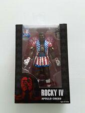 "New NECA ROCKY IV 40TH ANNIVERSARY APOLLO CREED 7"" ACTION FIGURE"