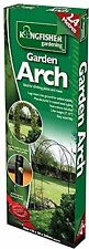 Kingfisher Self Assembly Garden Arch For Climbing Plants and Roses 2.4m.