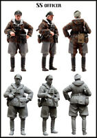 1:35 World War II German officer in winter High Quality Resin Kit
