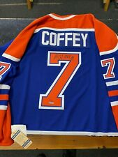 Edmonton Oilers Paul Coffey Autographed Authentic Jersey HOF Limited 13/50 UDA