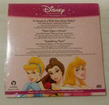 DISNEY PRINCESS 3-SONG SAMPLER SEALED RARE CD