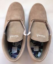 Men's Shoes Diamond Supply Co Deck Sneakers Athletic Suede Sand Beige Size 10