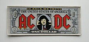 AC/DC - One Dollar  - Official Woven Patch