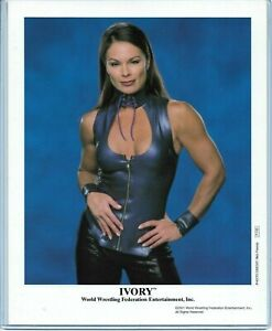 WWE IVORY P-730 OFFICIAL LICENSED AUTHENTIC ORIGINAL 8X10 PROMO PHOTO VERY RARE