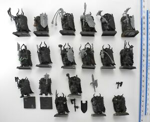 18 CHAOS WARRIORS (most converted) Plastic Slaves to Darkness Army Warhammer 4