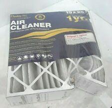 Flanders High-Efficiency Air Cleaner 19x20x4 Merv 8 Air Filter - One Pack#No2070