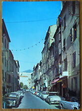 AJACCIO RUE BONAPARTE CITROEN DS SIMCA vintage postcard french cars Corsica