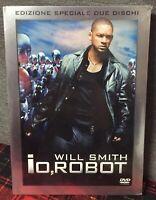 Io Robot DVD Nuovo Edizione Speciale Due Dischi Will Smith 2 DVD Come Foto